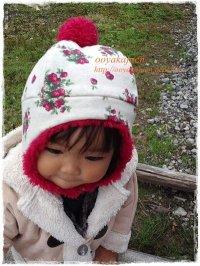 イチゴちゃん/耳あて帽
